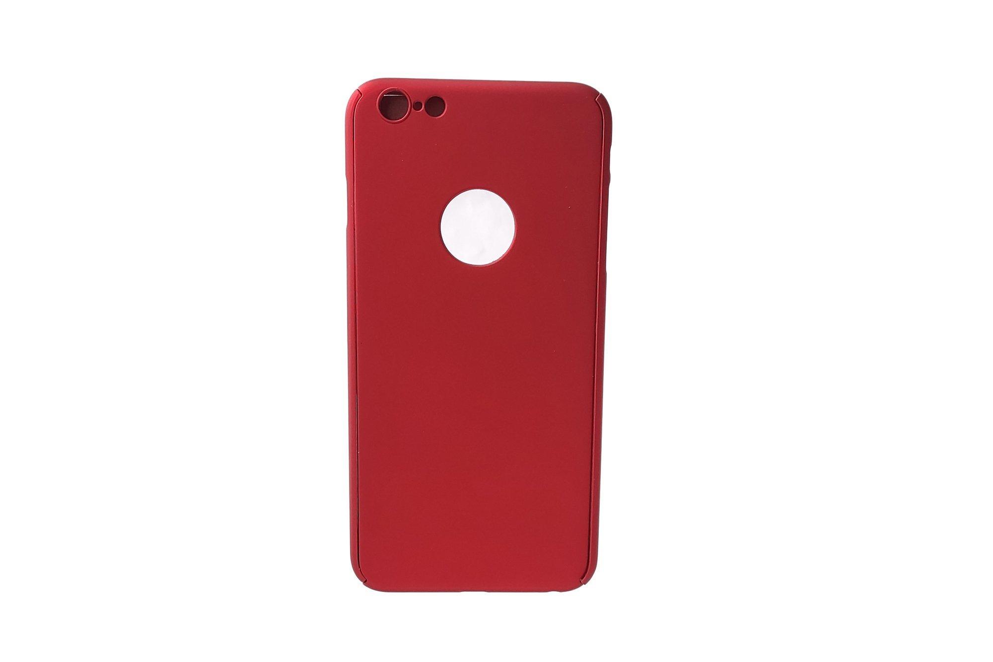 2in1 Hybrid 360° Full Protection Case Voero Apple iPhone 6+ / 6S+ Metallic Red
