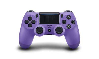Controller Gamepad Playstation 4 PS4 v2 Electric Purple