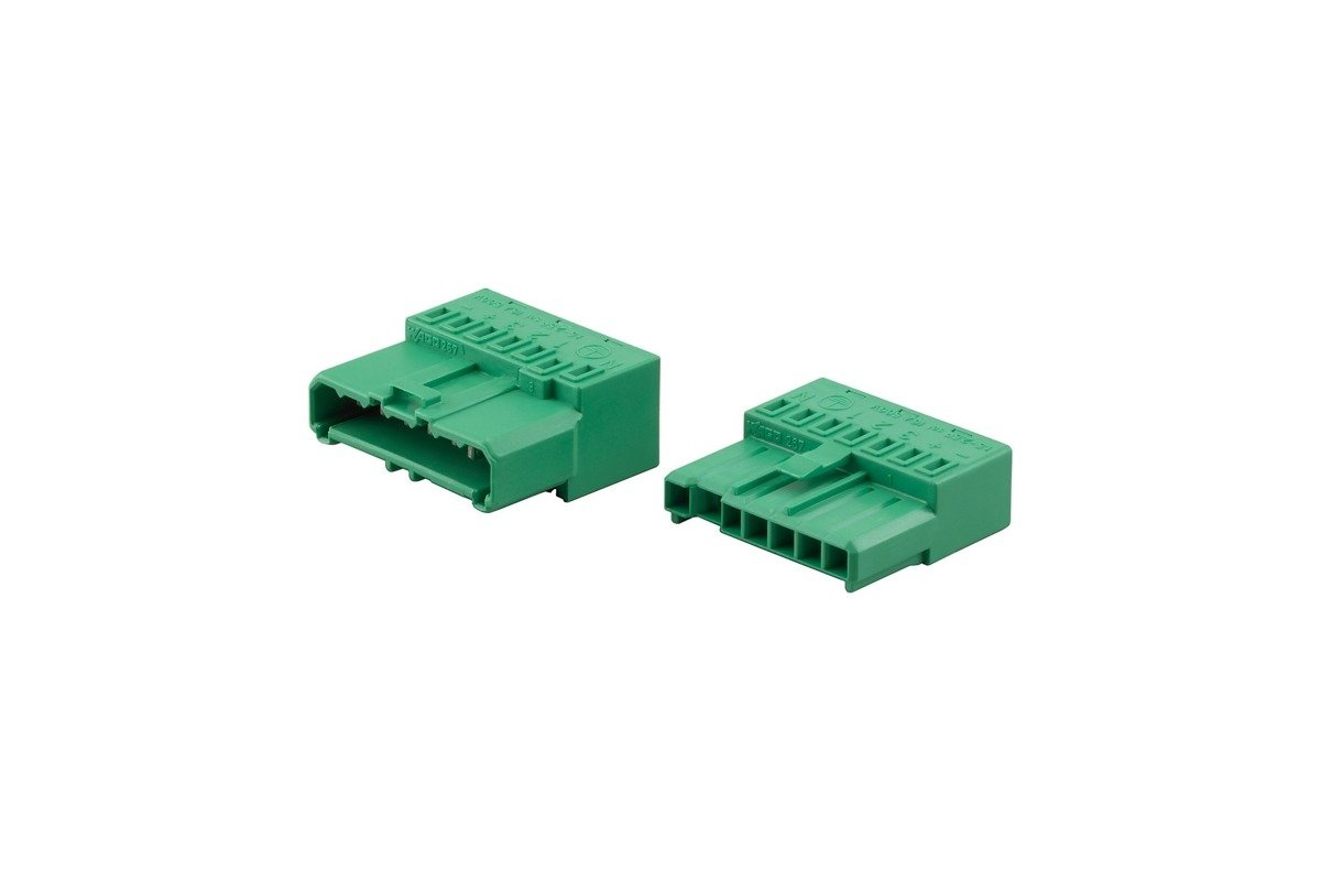 Electrical connector 7-pole CoreLine Trunking Acc. LL120Z EC7-M-F (5Pcs)