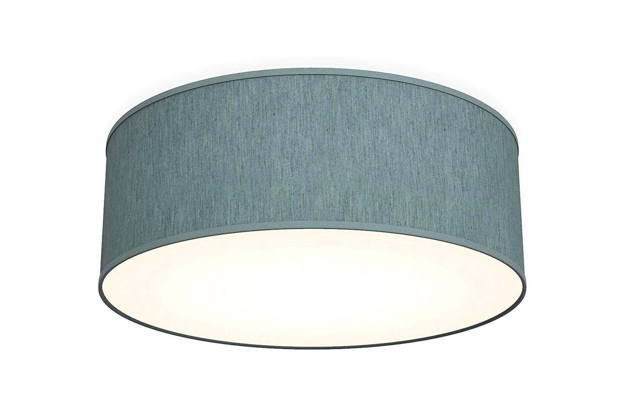 Fabric ceiling lamp B.K.Licht BKL1101