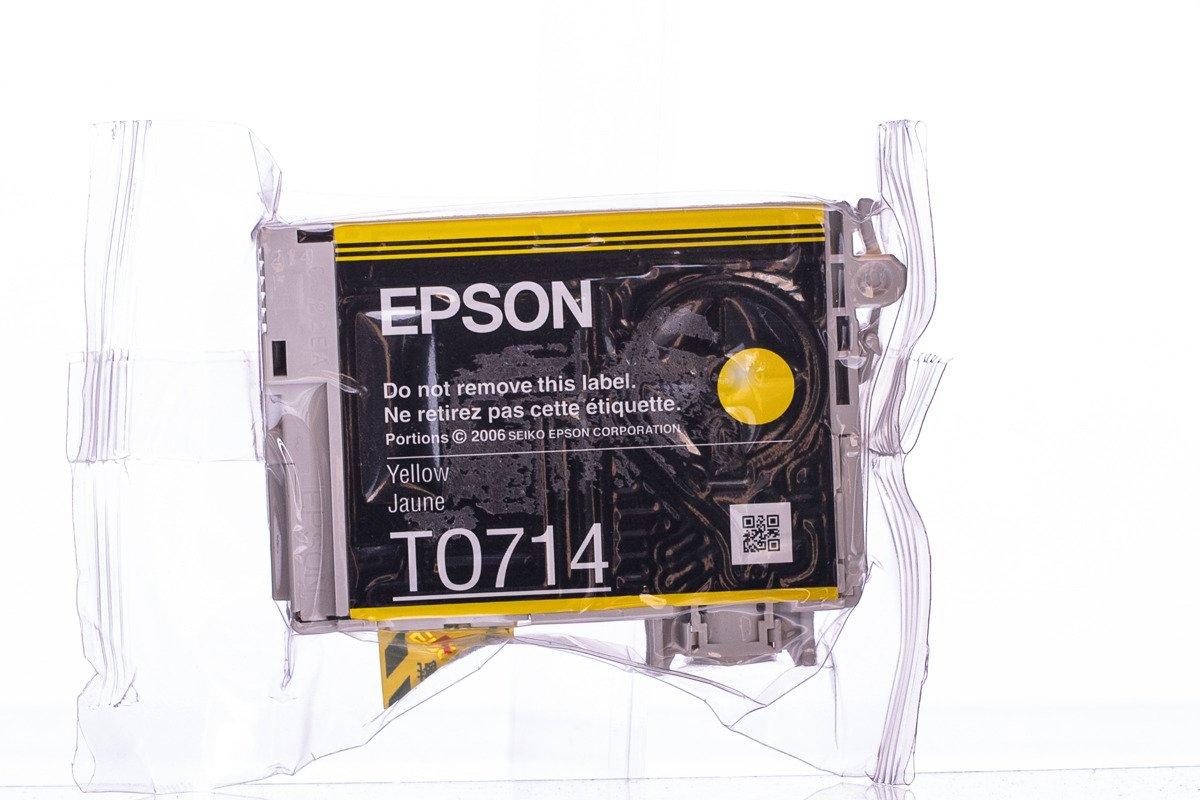 Genuine Ink Cartridge Epson T0714 C13T07144012 Yellow