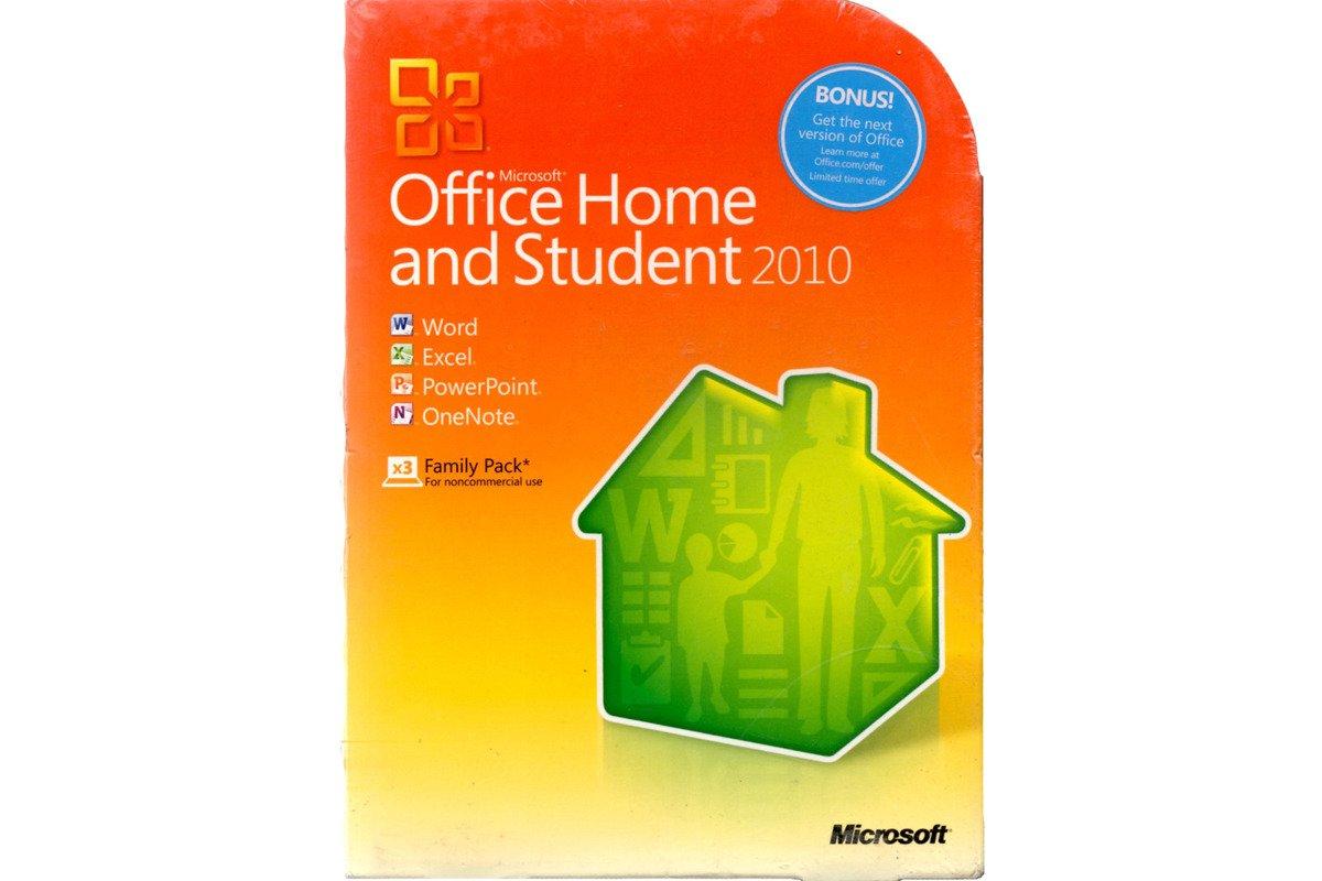 Genuine New Microsoft Office Home And Student 2010 DVD 79G-02086 Non EU/EFTA