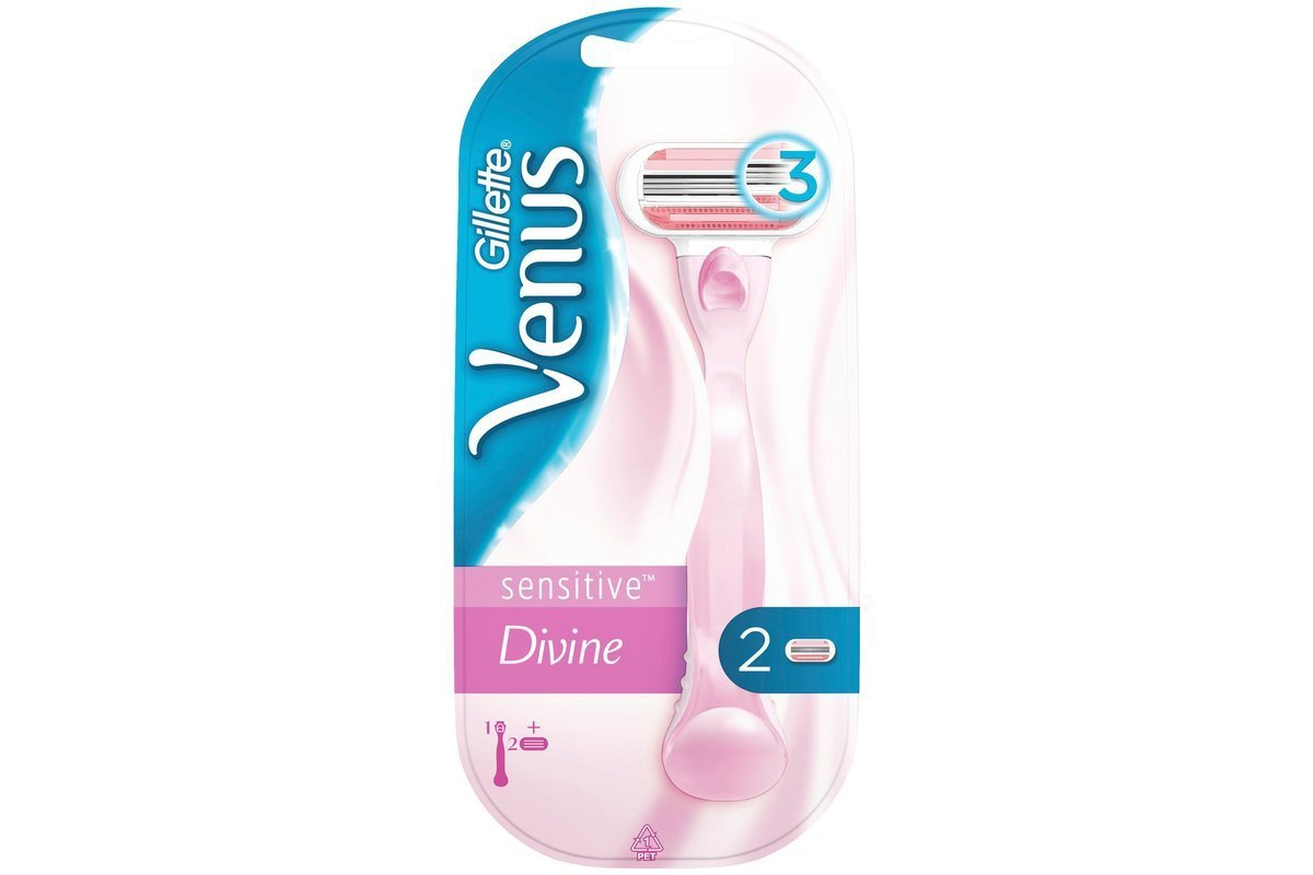 Gillette razor Venus Divine Sensitive Womens Razor