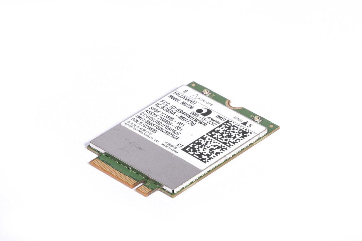 Huawei MU736 3G HSPA+ 2100/1900/900/850/AWS 723895-001 NGFF M.2 WWAN Card for HP