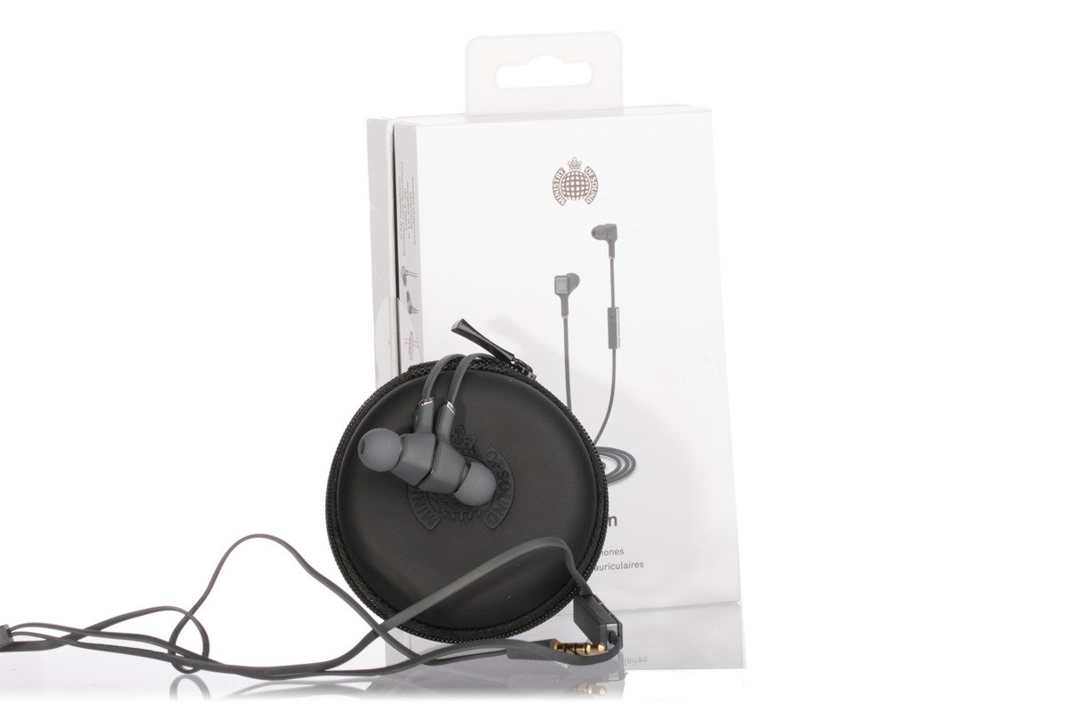 Ministry of Sound Audio In Headphones Charcoal Grade C