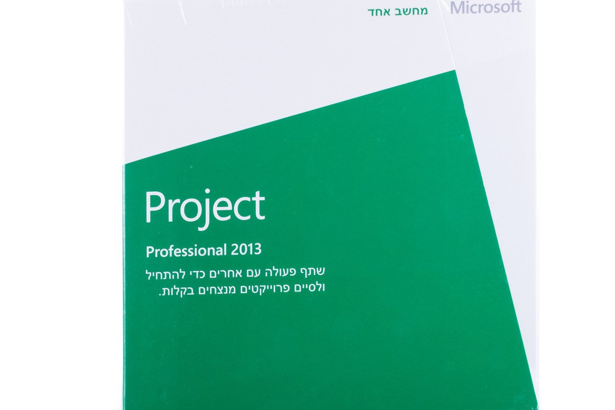 New Genuine Microsoft Project 2013 H30-03839 Africa Middle East Only DVD BOX