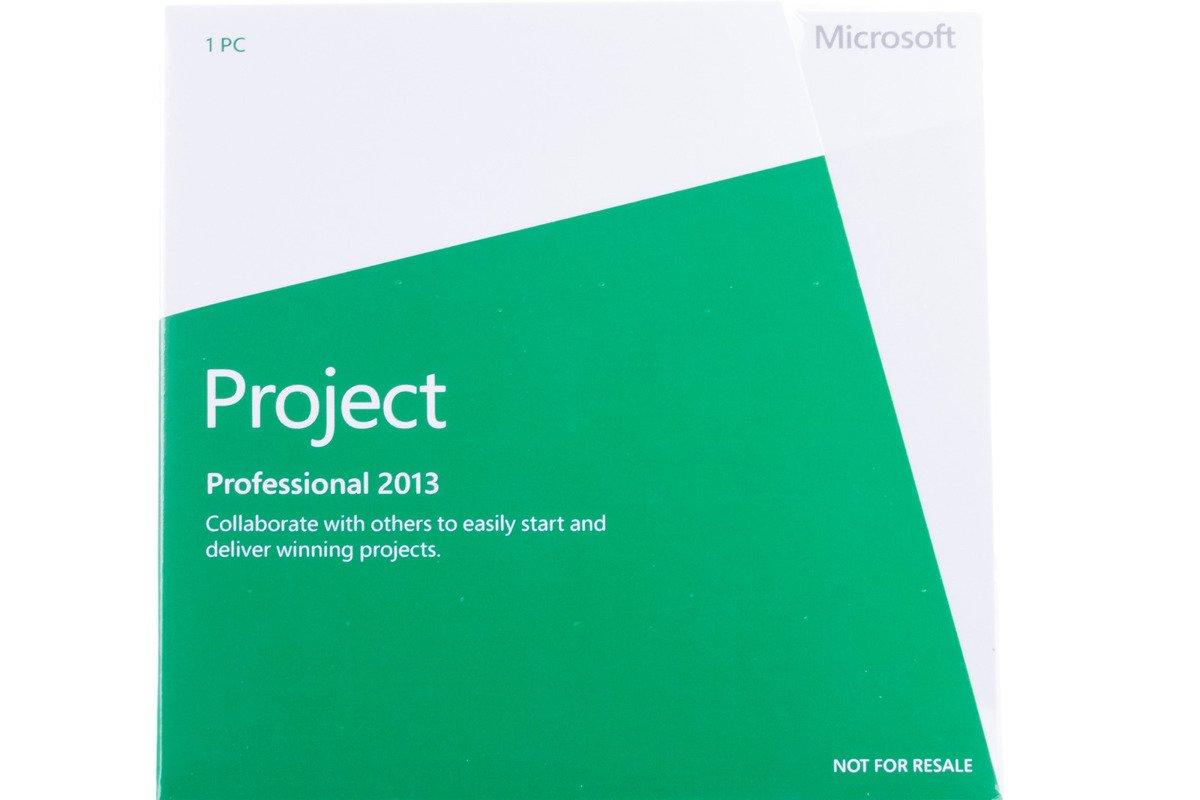 New Genuine Microsoft Project Professional 2013 H30-03675 English Eurozone