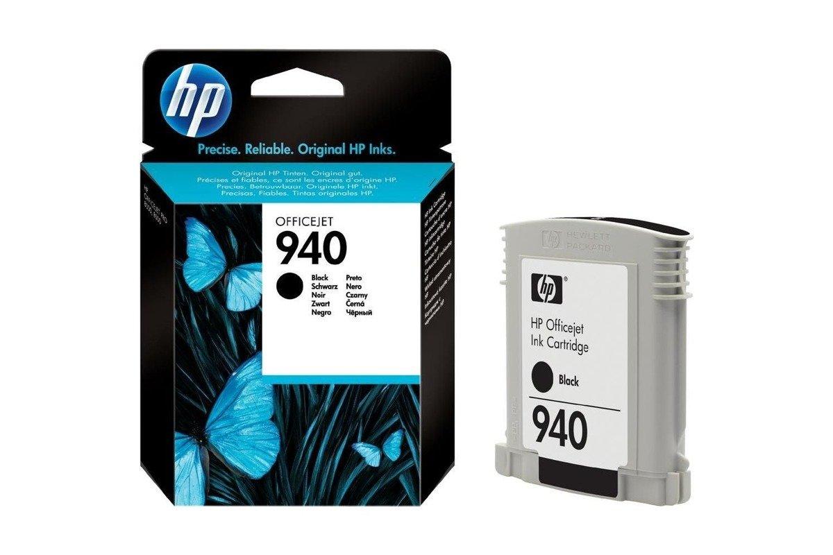 New Genuine Original Ink Cartridge HP 940 C4902AE Black