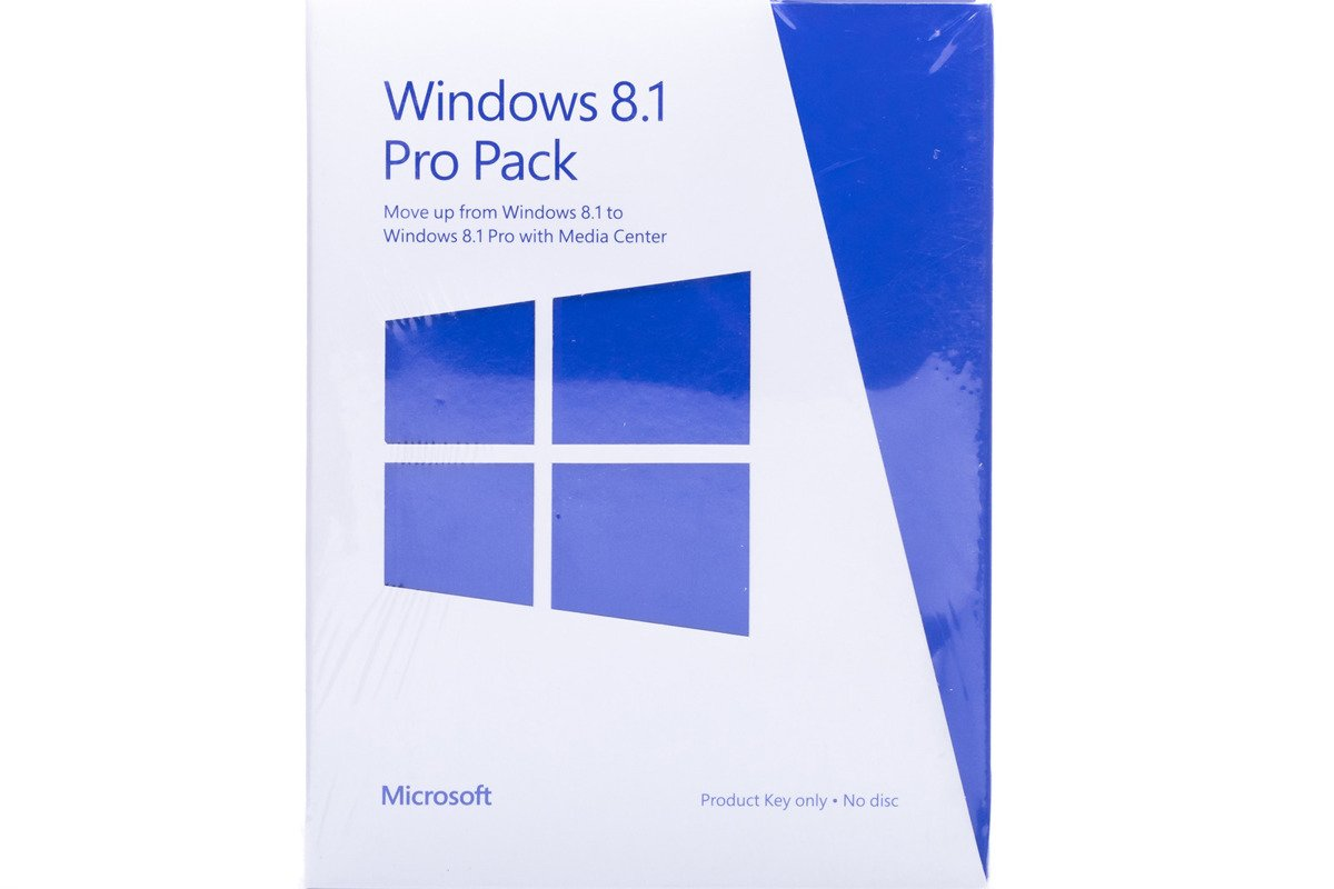 New Genuine Windows Professional Pack 8.1 5VR-0014 BOX Medialess Non EU/EFTA