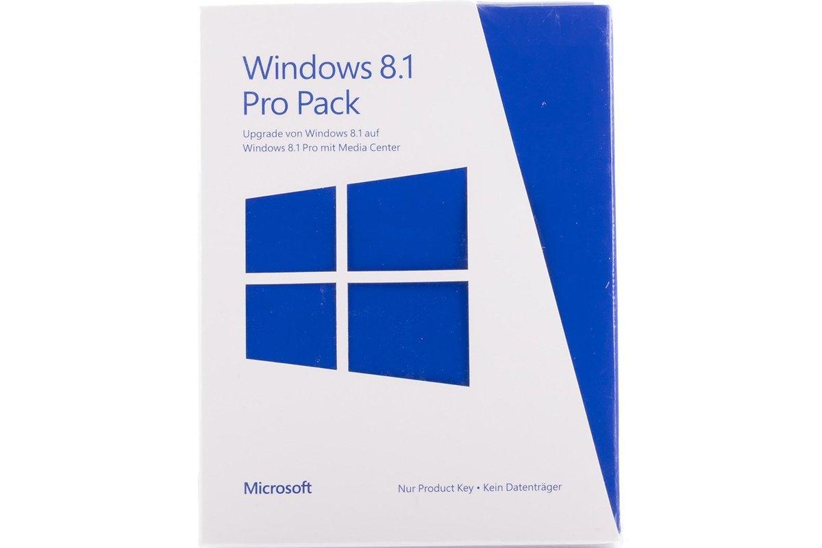 New Original Microsoft Windows 8.1 Pro Pack 5VR-00155 German PUP Upgrade