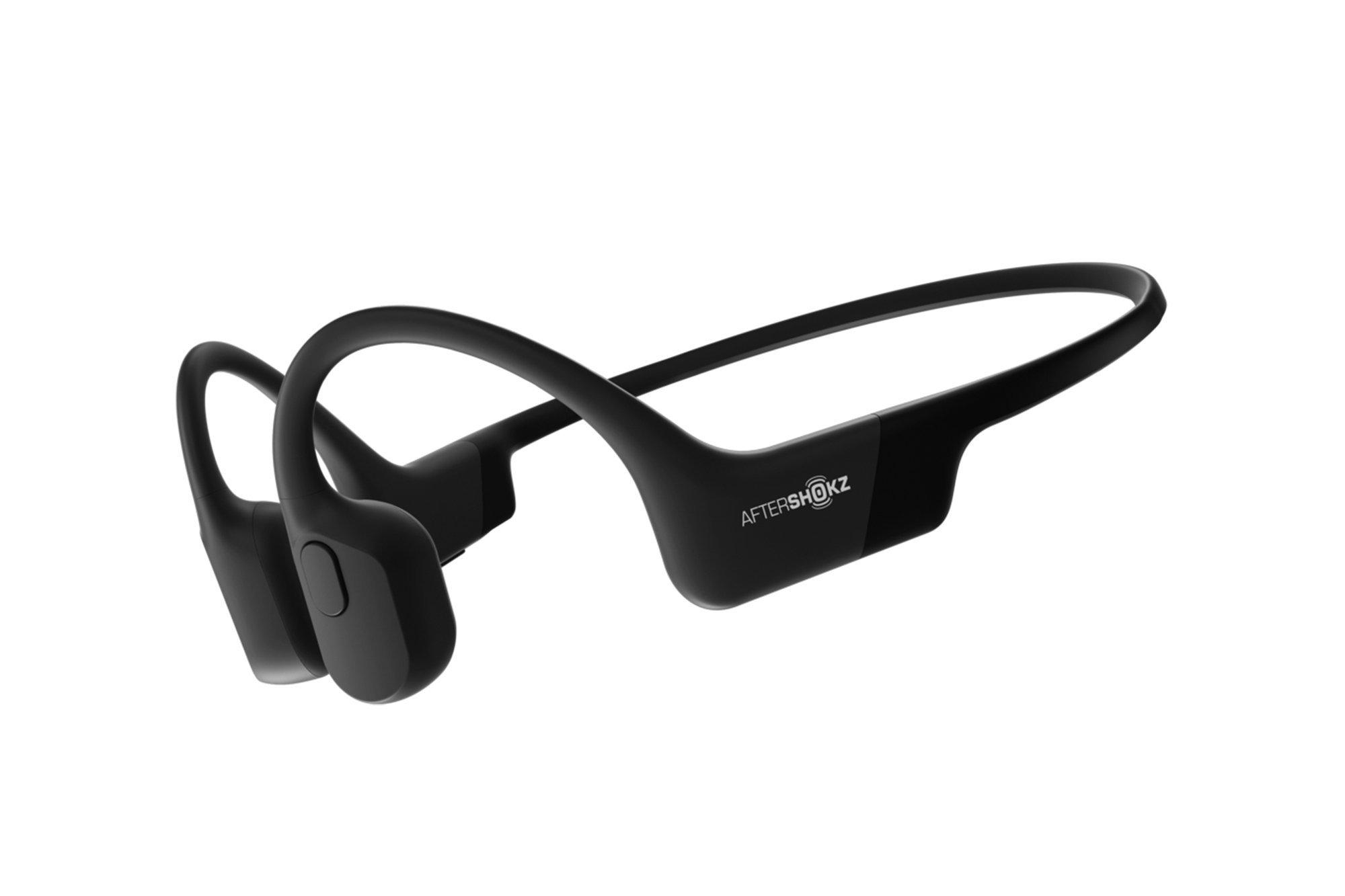 New Wireless Bone Conduction Headphones Aeropex AfterShokz AS800 Cosmic Black