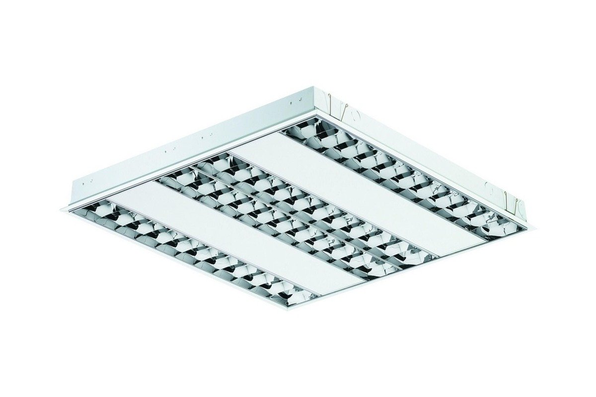 Philips EFix Ceiling Light Built-in TBS260 4xTL5-14W/840 HFS C6 EL3 PI