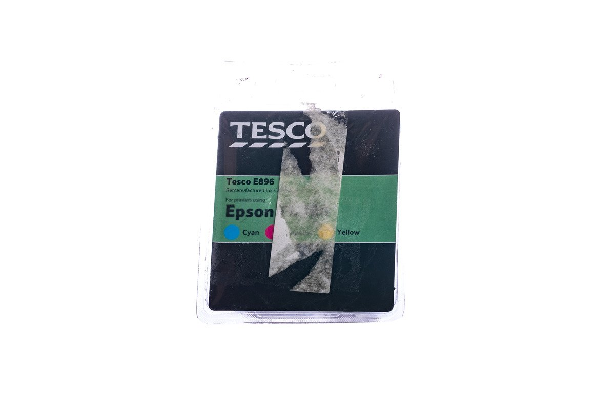 Remanufactured Ink cartridge Tesco Epson E0896 CMY