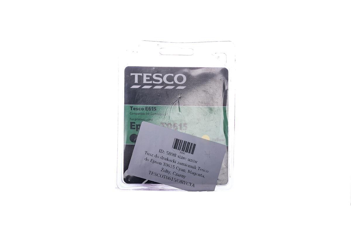 Remanufactured Ink cartridge Tesco Epson T0615 Cyan, Magenta, Yellow, Black