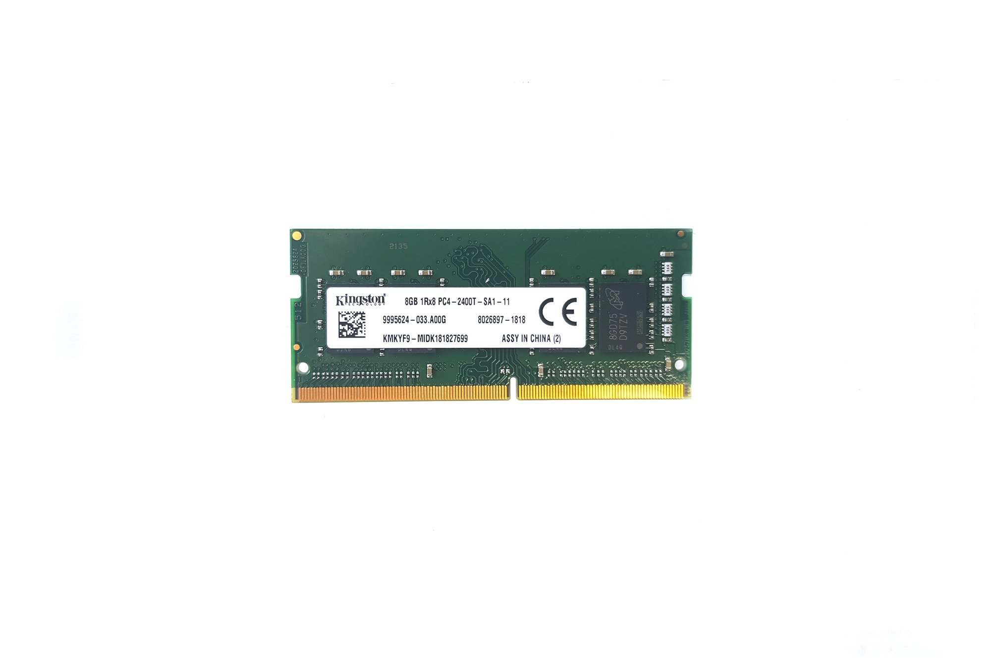 SODIMM Memory RAM Kingston 8GB DDR4 KMKYF9-MIB