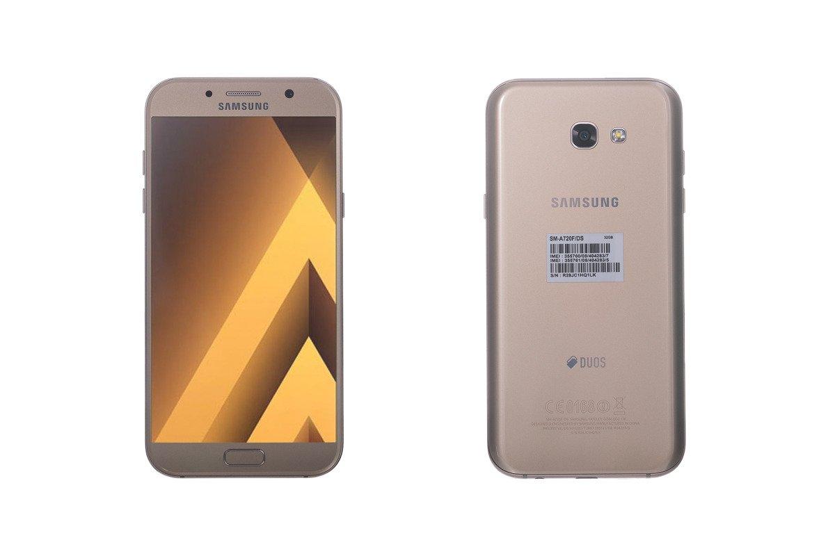 Samsung Galaxy A7 (2017) Gold SM-A720F Dual SIM 32 GB