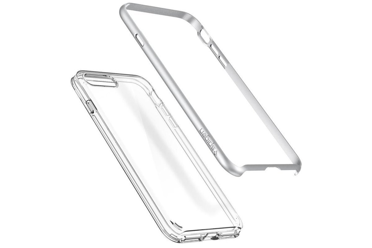 Spigen Neo Hybrid Crystal 2 Iphone 7 Plus Satin Silver Case Cover