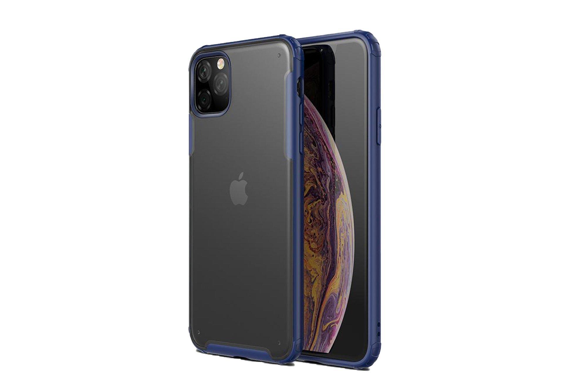 Transparent phone cover WLONS Apple iPhone 11 Blue