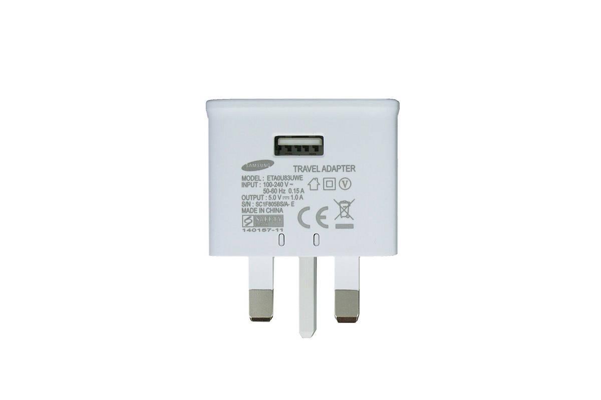 Genuine charger Samsung ETA0U83UWE 5V 1A