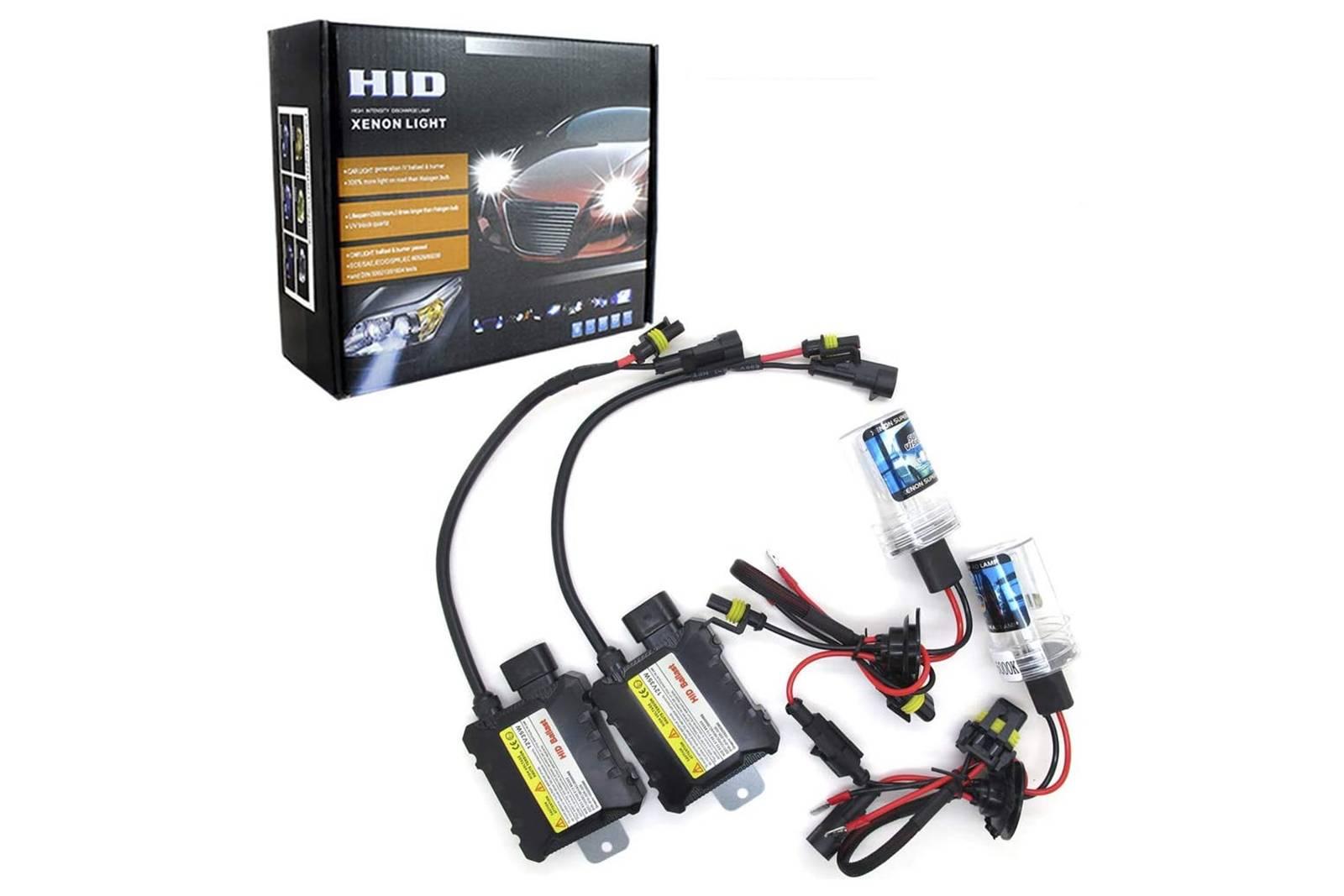 HID Xenon Headlight Kit H11 Bulbs & Ballasts Canbus 8000K