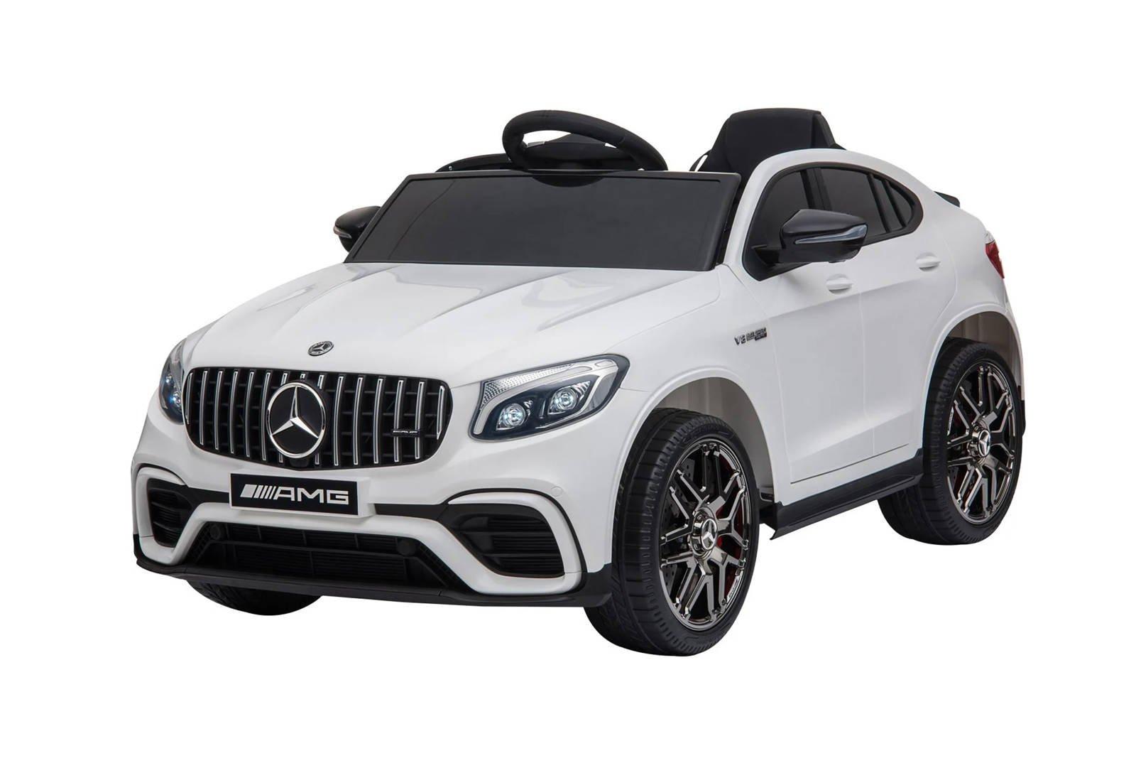 HOMCOM Mercedes Benz AMG GLC63S Coupe 2 Speed 12V Car for Kids