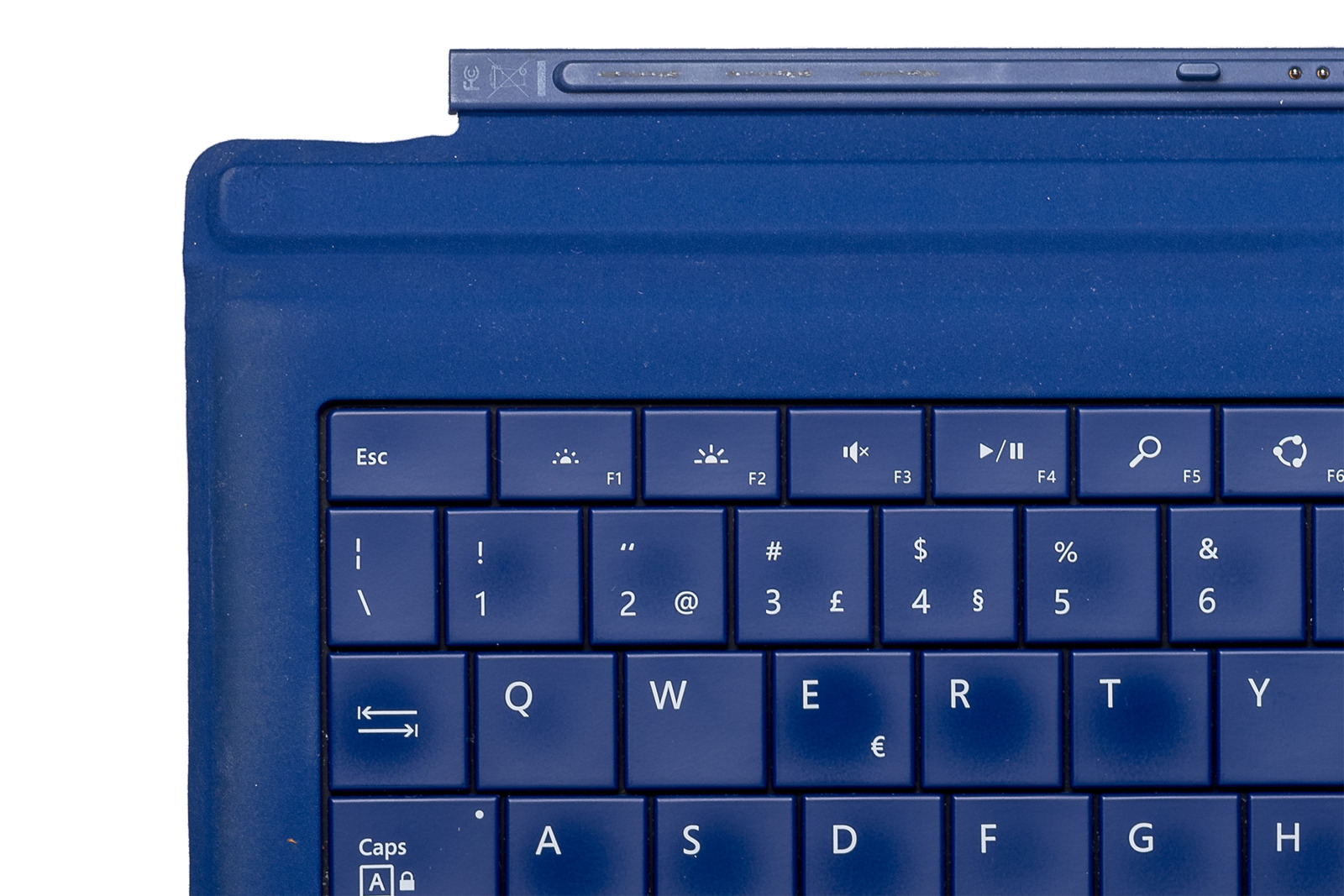 Keyboard Microsoft Surface Type Cover Pro 3 Dark blue QWERTY Portuguese Grade C