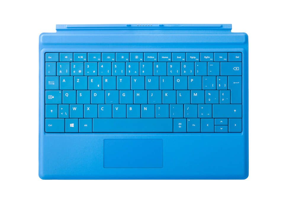 Keyboard Surface Type Cover 3 Cyan Grade A (French)