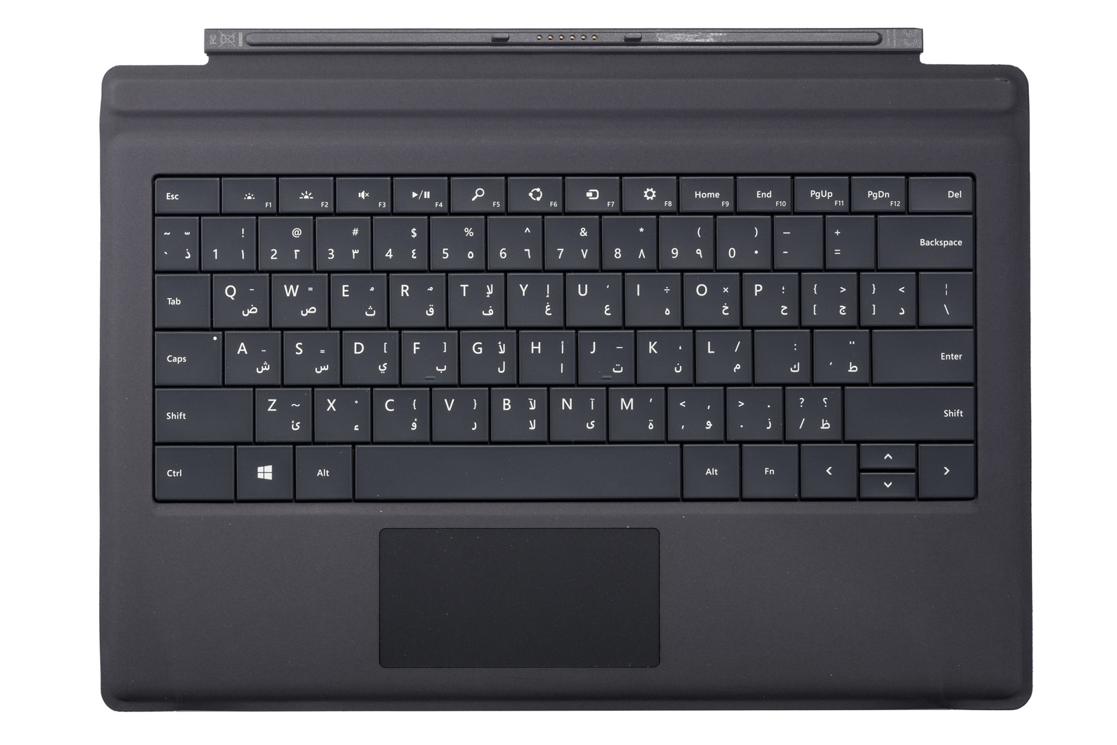 Keyboard Surface Type Cover Pro 3 Black Grade A (Arabic)