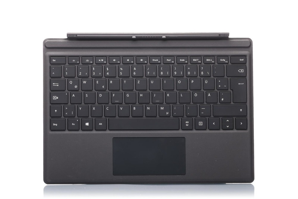 Keyboard Surface Type Cover Pro 4 Black Grade A (German)