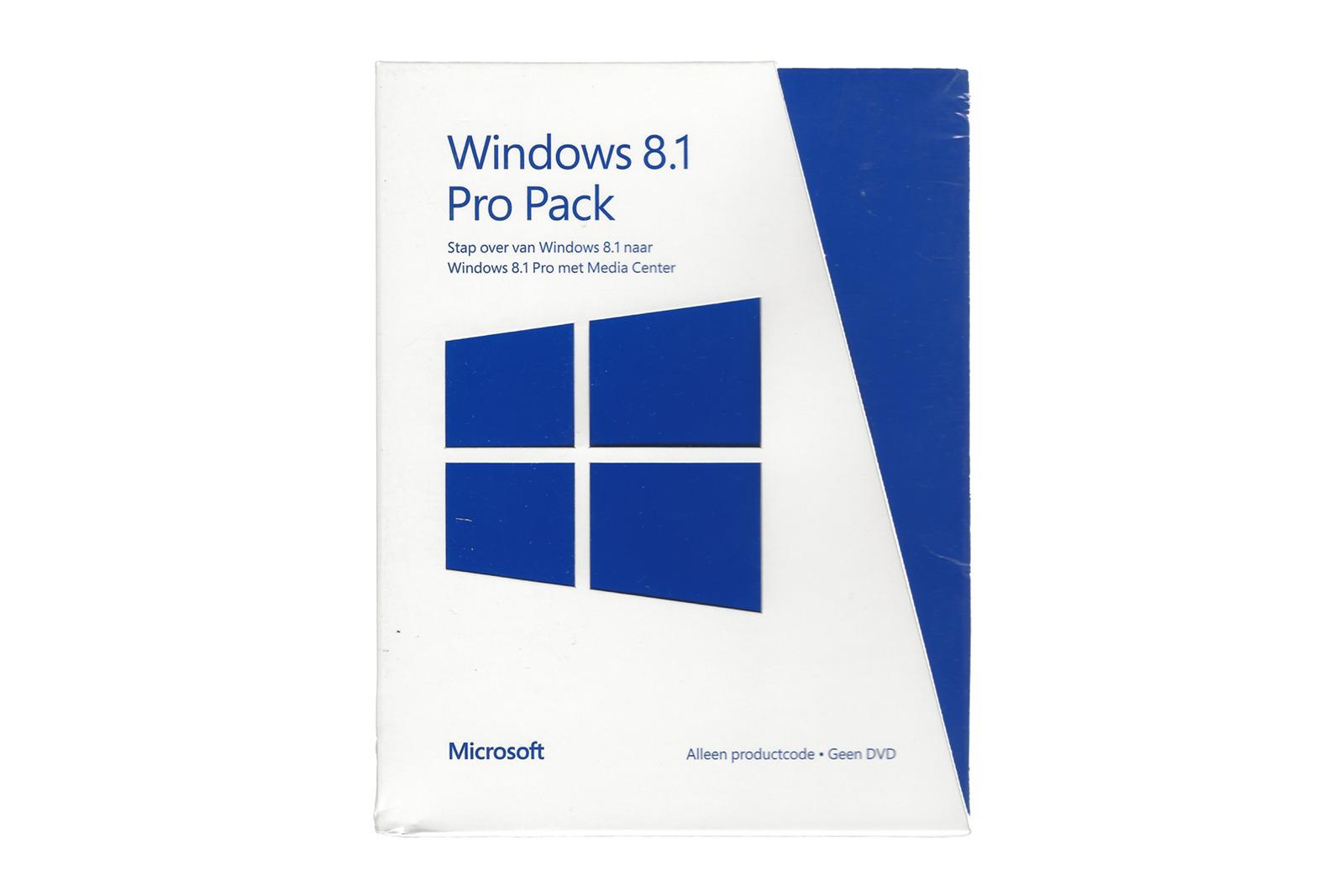 Microsoft Windows 8.1 Pro Pack 5VR-00151 Dutch PUP