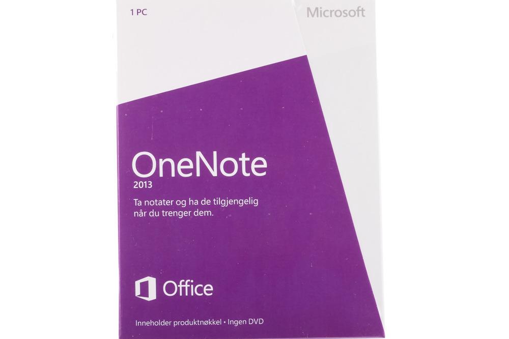 New Microsoft OneNote 2013 32/64 Medialess S26-05095 Eurozone