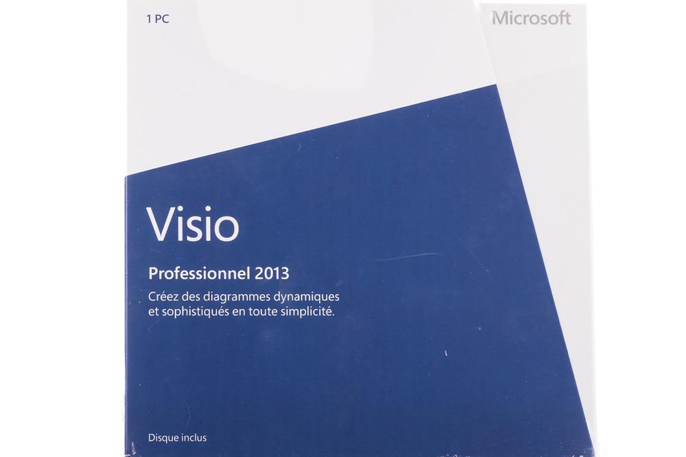 New Microsoft Visio Professional 2013 D87-05369 Medialess Africa/Latam BOX