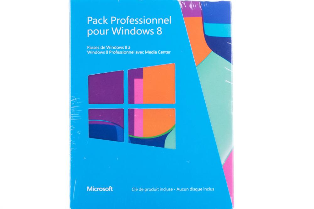 New Windows Professional 8 Upgrade for PC 5VR-00018 KEY 32/64 bit Eurozone BOX
