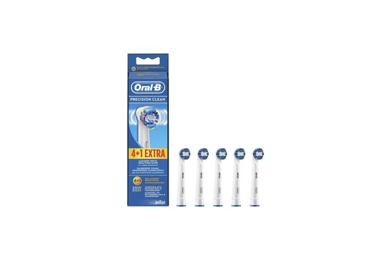 Oral-B 5x Replacement Brush Heads Precision Clean 64703707